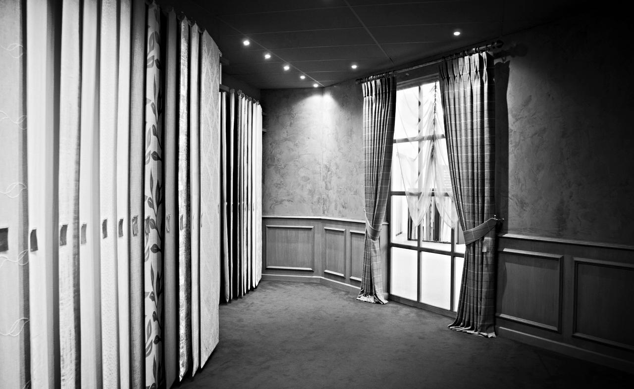 Exclusieve zaak in raamdecoratie – 3000 m2 Showroom